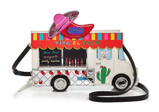 kate spade new york Haute Stuff Taco Truck Clutch Multi/Gold