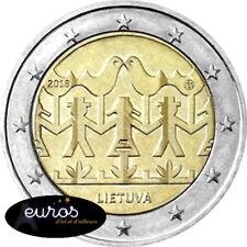 2 euros commémorative LITUANIE 2018 - Festival de Chant et de Danse - UNC