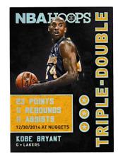 2015-16 Panini NBA Hoops Triple Double Kobe Bryant #13 LA LAKERS
