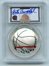 2020 P $1 Colorized Basketball Hall of Fame PCGS PR70DCAM FDOI Nate Archibald