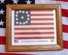 13 Star Flag, American Revolution Flag, 3rd Maryland, Battle of Cowpens pattern