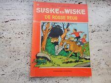 SUSKE EN WISKE DE ROSSE REUS  (W VANDERSTEEN)  1982  (NEDERLANDS)