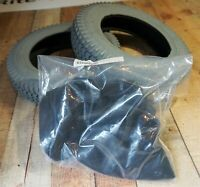 Tires & Tubes for Permobil C300/400/350/500 Power Wheelchairs ~ 3.00 x 8