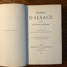 Contes d'Alsace sur les âges de la Pierre et du Bronze - 1886