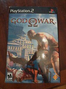 2005 God of War PlayStation 2 Press kit box. God of War game not included. Rare!