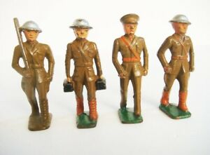 Vintage Grey Iron, Barclay, Manoil toy soldiers
