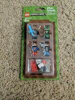 "Lego Minecraft Mini Figures "" New "" Sealed Package. 25 pcs/Stck/pzs/db"