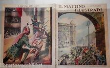 1939 Guerra di Spagna Conclavi Pesca sul Baltico Lanciatore di coltelli Napoli