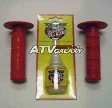 Tag MX Red Grips + Glue Honda XR200/XR250 Bars Grip