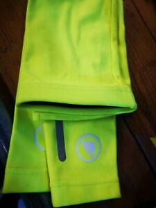 Endura Xtract Arm Warmers (Hi-Viz Yellow) winter, size L/XL