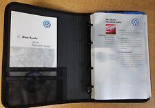 GENUINE VW NEW BEETLE HANDBOOK OWNERS MANUAL WALLET 1997-2005 PACK G-330