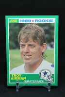 1989 Score Troy Aikman Dallas Cowboys #270 Football Card