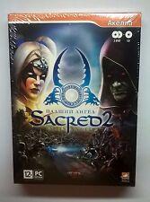 Sacred 2: Fallen Angel License Action RPG 2 DVD+1 CD PC DVD-ROM (PC, 2008)