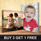 Buy 3 Get 1 Free Personalised Your Photo on Canvas Prints - A5 A4 A3 A2 A1 A0