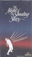 VHS: NIGHT OF THE SHOOTING STARS...OMERO ANTONUTTI....SUBTITLED.....NEW