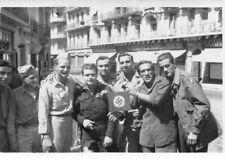 PHoto soldats à Alger Algérie avec croix Gammée Nazi face L Billard Agriculture