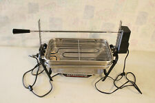Farberware Open Hearth Indoor Electric Rotisserie Grill 455-N  TESTED