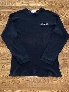 vintage Rollins Band longsleeve thermal shirt embroidered USA large vtg
