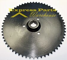 "Live Axle Sprocket 60T 40/41/420 Chain 1"" Bore Go Kart Yerf Dog Murray. USA!!"