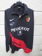 Maillot rugby STADE TOULOUSAIN 2007 2009 shirt coton ancien vintage NIKE XL