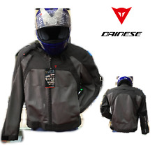 Giacca da moto DAINESE AIR FLUX tessuto 46 S giubbotto estiva grigio uomo tourin