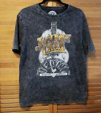 Johnny Cash Sun Record Co Medium Black Short Sleeve Tshirt