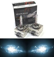 HID Xenon D1S Two Bulbs Head Light 6000K White Bi-Xenon Replace Low High Beam