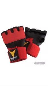 ProForce Thunder Neoprene Gel Hand Wraps, Red, Small/Medium #80066