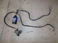 1986 Honda TRX250 Utility Hand Front Brake Master Cylinder Lines Lever Hoses