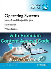 NEW 3 Days to AUS Operating Systems Internals and Design Principles 8E Stallings