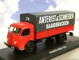 """IXO DIECAST 1/43 PANHARD MOVIC TRUCK """"ANTERIST & SCHNEIDER"""" GERMANY 1952 TRU014"""