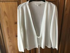 MONSOON CROPPED TIE FRONT CARDIGAN/COVER UP XL FIT 18-20. NWOT.