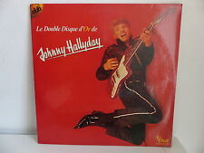 Le double disque d or de JOHNNY HALLYDAY 416009
