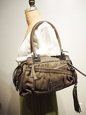 Guess Swoon Logo Multi Zipper Satchel, Taupe, was $120