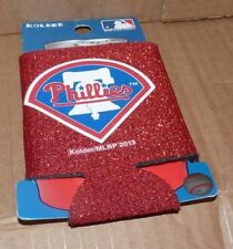 NEW MLB Philadelphia Phillies Can Kolder Coozie Baseball Glitter NEW NWT