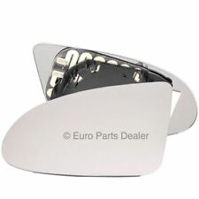 Wing door Mirror Glass Passenger side for Audi A2 (8Z) 1999-2005 Heated