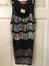 """Ladies Say What"""" Sparkly Top From T.J.Max Size Small"""" New W/ Tag 💕💕"""