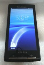 Sony XPERIA X10a 1GB Black AT&T Good Condition Do Not Read Sim  Read Below