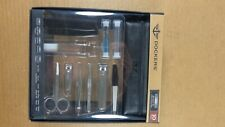 DOCKERS 10 PC MANICURE SET STAINLESS STEEL WITH UTILITY BAG