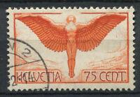 Switzerland 1924 Mi. 19 Used 100% Airmail 75 C