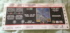 ROLLING STONES biglietto concerto Stadio San Siro 30 maggio 1998