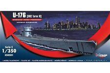 MIRAGE HOBBY 350501 1/350 U-176 German U-Boot Typ IXC Turm II