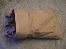 USMC Issue ILBE Coyote Brown CSM Magazine Dump Pouch - Very Good Condition