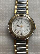 Vintage Lorus water resist quartz female watch date indicator V827-0170