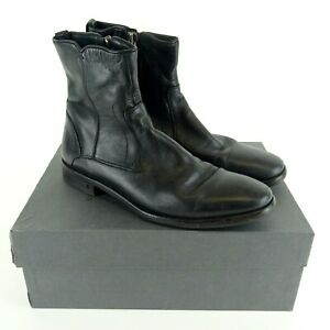 John Varvatos Black Fleetwood Dress Zip Boot F1796N2 Size US 9 EU 42