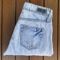 Refuge Denim Women's Highly Distressed Light Washed Holy Denim Jeans Size 10