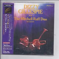 DIZZY GILLESPIE And The Mitchell Ruff Duo In Concert JAPAN mini lp cd SRCS 9398