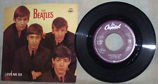 "THE BEATLES 45 RPM 7""-CAPITOL RECORDS B-5189-""LOVE ME DO/P.S. I LOVE YOU""-VG+"