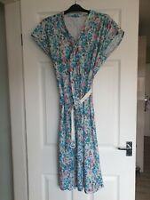 Vintage Floral Dress Size 20 Amari Designer with matching belt