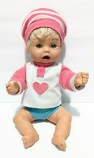 Lil'l Amazing Ashley 2000 Playmates Interactive Doll Talks Eats Moves Arms